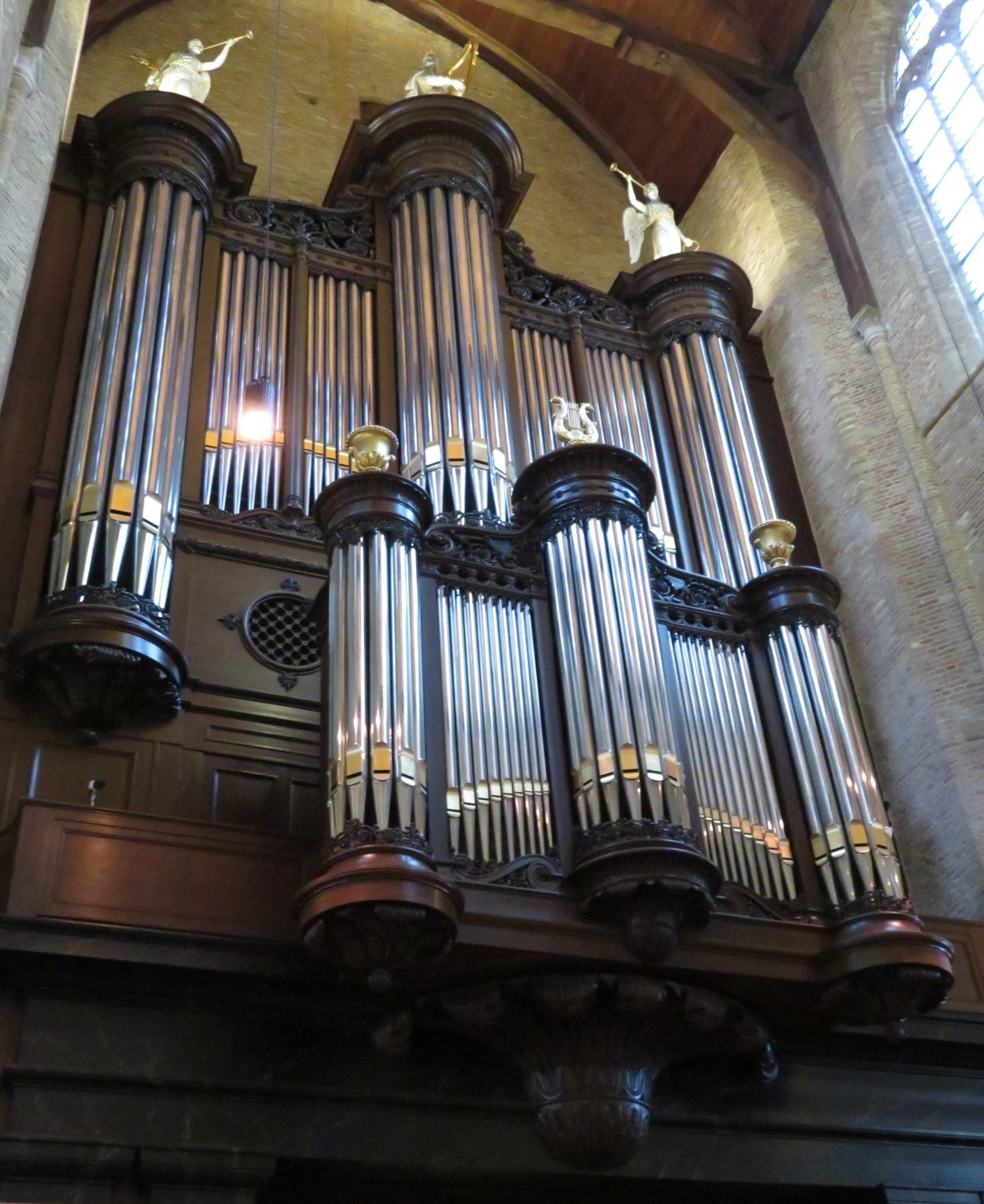 orgel nieuwe kerk delft