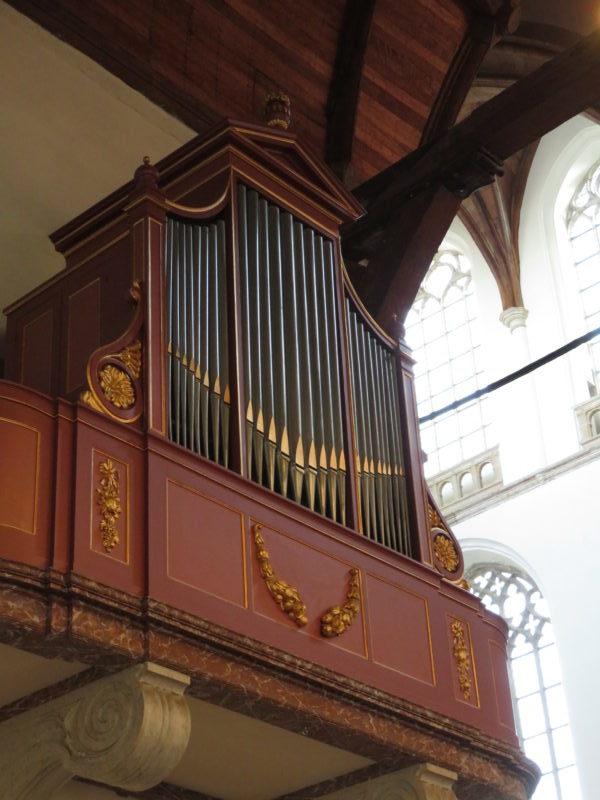 Noordbeukorgel Oude Kerk Delft