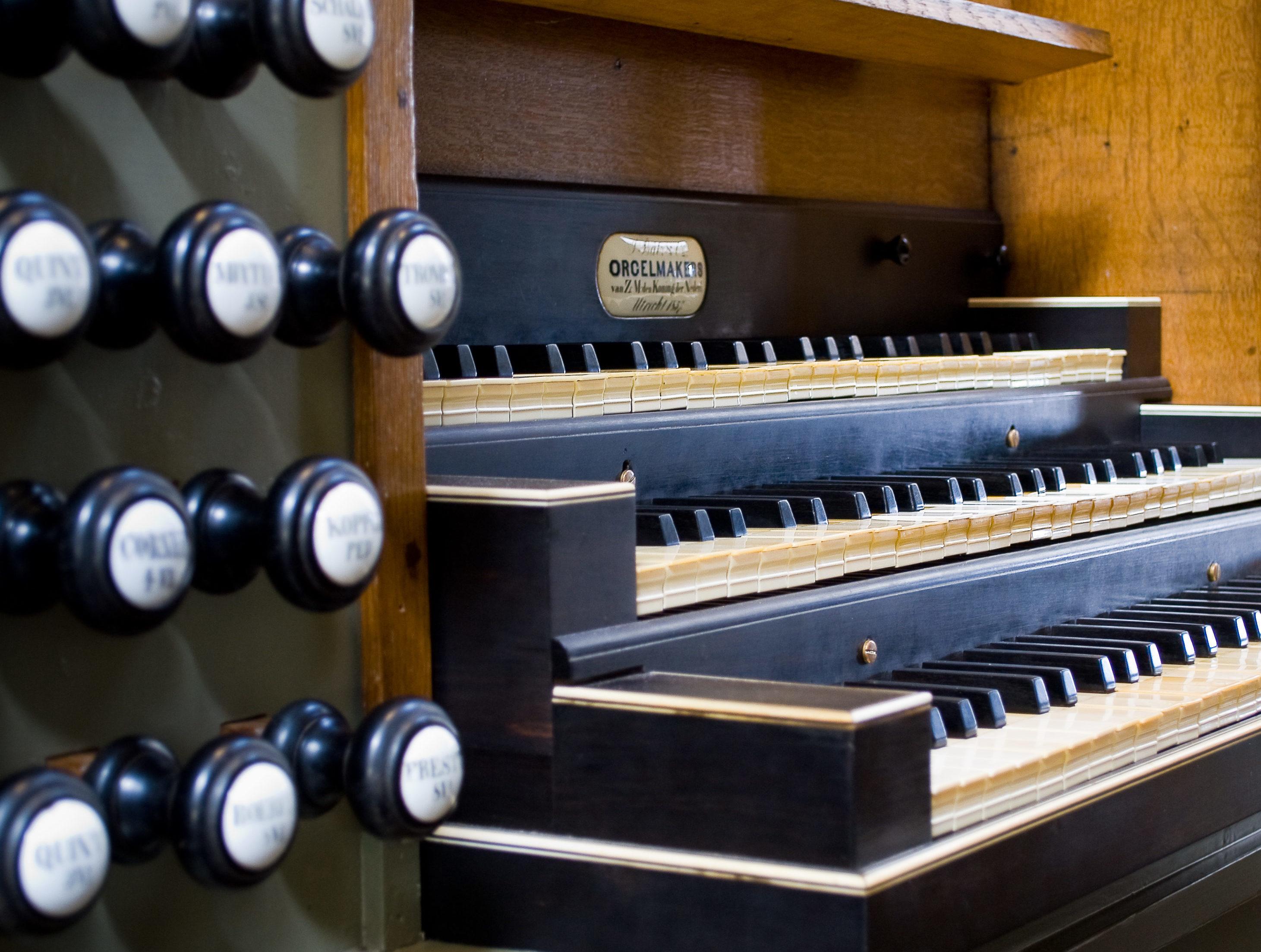 orgel oude kerk delft speeltafel